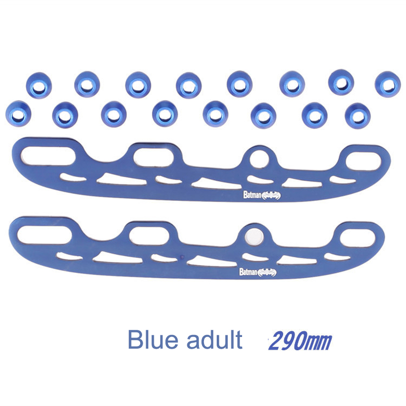 3mm Thick 290mm 253mm Stainless Steel Roller Skate Shoes Ice  Figure Blade Cooltaki Multi Purpose For Kids Adult 4 Colors