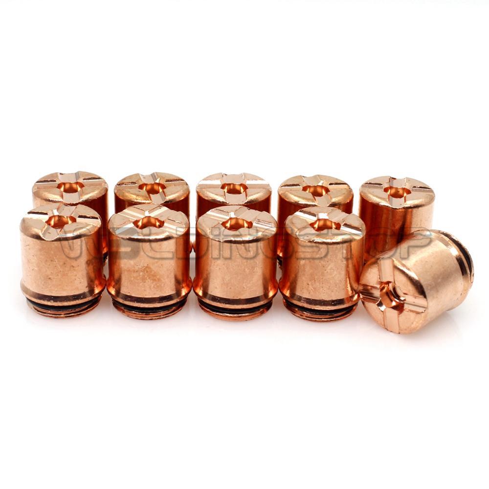 9-8236 Thermal Dynamics SL 60/100 Plasma Cutter Torch Consumables_ Shield Cap 10pcs