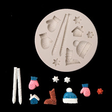 #20 DIY 3D Flower Silicone Mold Fondant Cake Decorating Chocolate Sugar craft Mould Kitchen Accessories Baking Moulds