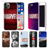 case iphone 5 Marvel Movie Stranger TV Case for Apple iphone 11 Pro X XS Max XR 7 8 6 6S Plus + 5 S SE 5C Silicone Carcasa Phone Coque Cover (1)