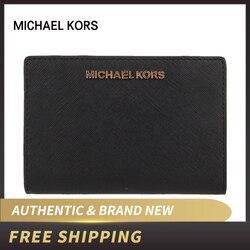 Authentieke Originele & nieuw Michael Kors JET SET TRAVEL luxe Vouwen Portemonnee 35F8GTVD8L