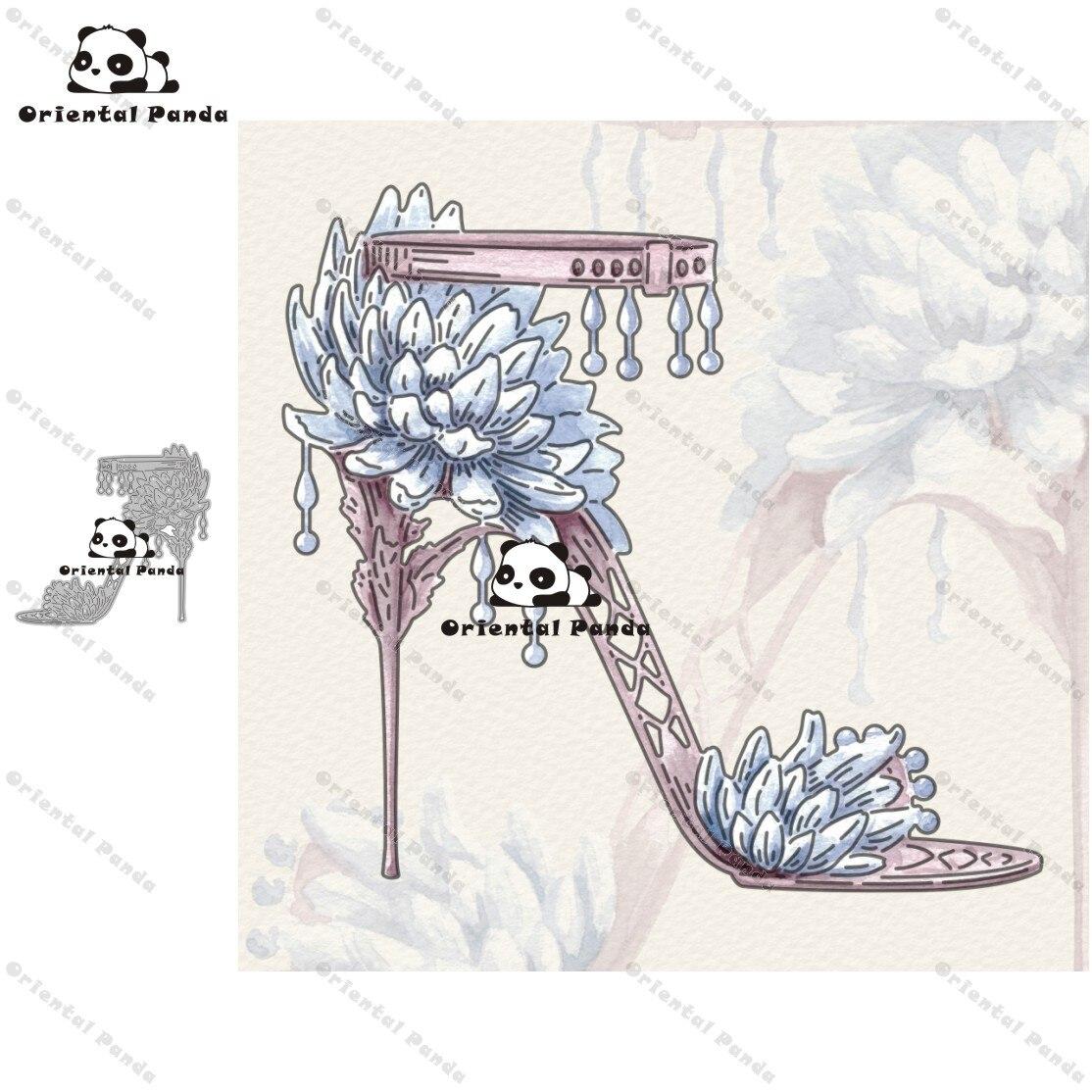 New Dies Chrysanthemum Shoes Metal Cutting Dies Diy Dies Photo Album  Cutting Dies Scrapbooking Stencil Die Cuts Card Making