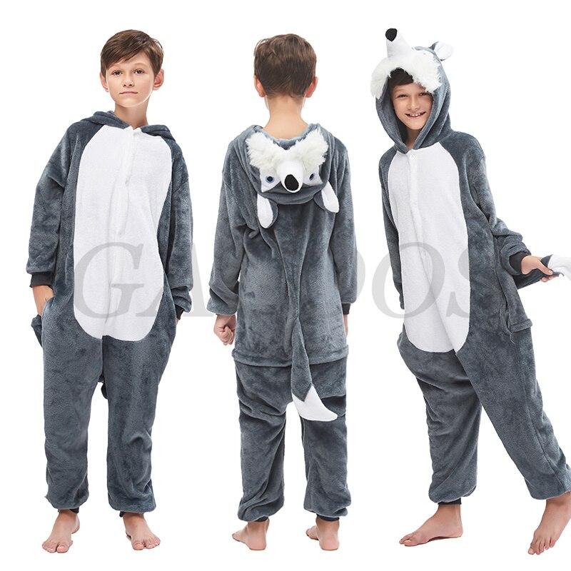 Panda Rabbit Onesies Pajamas Unicorn Animal Pyjamas Kids Boys Girls Sleepwear For 6 8 10 12 14 16 18T Pijamas Infantil Clothing