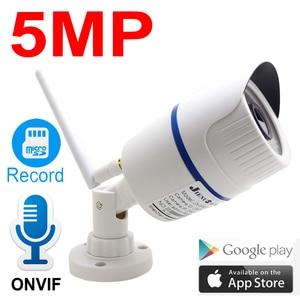 Image 1 - JIENUO 5MP Wifi Camera IP 1080P High Definition Outdoor Waterproof Audio Cctv Security Surveillance Wireless Onvif Home Camera