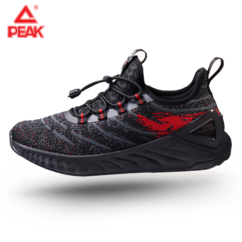 PEAK TAICHI Women's Winter Running Shoes Autumn Elastic Band Jogging Breathable Leisure Sports Shoes Super Small Size 35 36 37