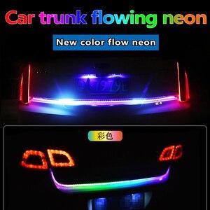 Car LED luggage storage flow n