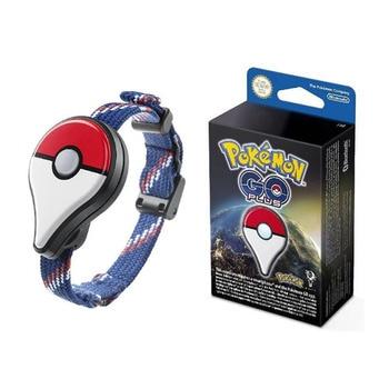 Genuine Pokemon GO Plus Bracelet Pocket Auto Catch Bluetooth Charging Band Switch Automatic Capturer Fantasy Figurines Toys