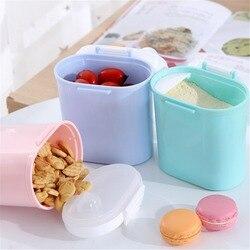 Детская формула для хранения молока для младенцев, портативный дозатор для молочного порошка, контейнер для хранения еды, коробка для кормл...