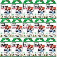 10 200 arkusze Fujifilm instax mini 11 9 8 film biała krawędź 3 Cal szerokości filmu dla aparat natychmiastowy mini 8 7s 25 50s 90 papier fotograficzny