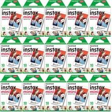 10 200 ورقة فوجي فيلم instax mini 11 9 8 فيلم حافة بيضاء 3 بوصة فيلم واسع للكاميرا الفورية mini 8 7s 25 50s 90 ورق طباعة الصور
