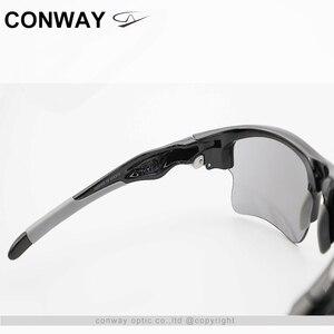 Image 5 - كونواي ريترو ساحة نظارات رياضية النظارات الشمسية PC مرآة العلامة التجارية تصميم نظارات في الهواء الطلق مكافحة وهج التكتيكية قناع عين 9102