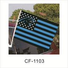 Flag Badge Cheerleading-Flag Football-Team-Logo American Stripe 30cm--45cm