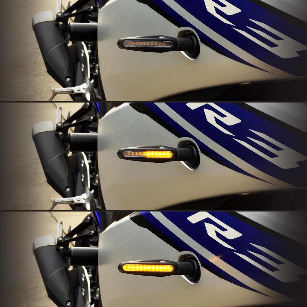 สำหรับ KAWASAKI Z1000SX/NINJA 1000/Tourer Z750R ZX10R ZX6R/636 รถจักรยานยนต์เปิดสัญญาณไฟสัญญาณกระพริบโคมไฟอุปกรณ์เสริม