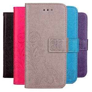 3D Flower Case for Infinix Hot 5 X559C X604 Note Smart X5010 3 Pro X601 X551 2 X600 S3X X622 Phone Case Flip Wallet Cover Fundas