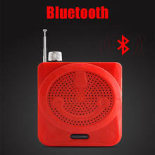 Portable Bluetooth Megaphone Speaker Wireless FM Radio Receiver USB TF Player AUX Function By 18650 Battery