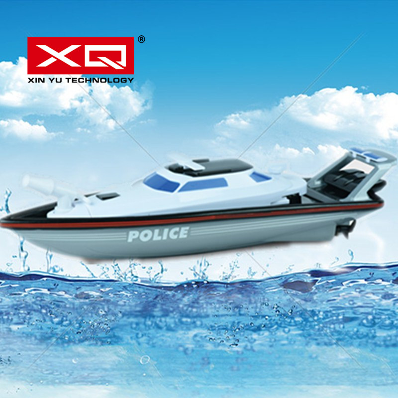 XQ 1/28 Top Sale 2.4G Radio Remote control Boat <font><b>for</b></font> Fishing Boat with shooting <font><b>water</b></font> Sport RC Boat <font><b>Toys</b></font> <font><b>For</b></font> <font><b>Children</b></font> Kids Adults image