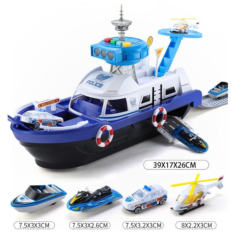 [TOYA535]多功能轨道船模玩具_15+