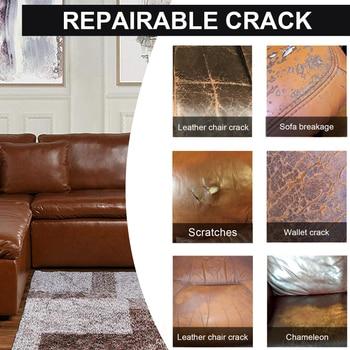 20ml Colorful Car Maintenance Leather Repair Gel Repair Home&Car Seat Leather Complementary Refurbishing Cream Paste Wash