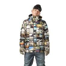 GSOU SNOW Snowboard Jacket Men Waterproof Windproof Mountain Skiing Snowboarding Clothing Winter Outdoor Sport Warm Ski Jacket 2016 new gsou snow men s ski jacket snowboard jacket for men waterproof snow wear winter warm cotton jacket windproof coat