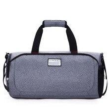 Luggage Travel-Bag Shoulder-Bag Sports-Cylinder Folding Women's And