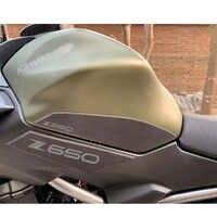 Para kawasaki Z650 2017-2019 almohadilla de tracción de depósito de motocicleta lateral de Gas para rodilla agarre Protector antideslizante de La etiqueta engomada