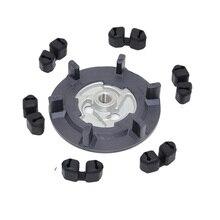Auto air ac kompressor kupplung hub + gummi für 5SE09C 5SL12C 5SEU12C 6SEU14C 6SEU17C 7SEU17C FÜR VW AUDI BMW SKODA SITZ