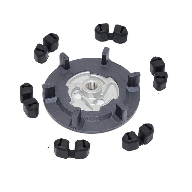 Compressor de ar para automóvel, compressor de ar ac para embreagem hub + borracha para 5se09c 5sl12c 5seu12c 6seu14c» para vw audi bmw skoda assento com assento
