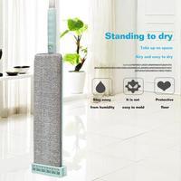 Fácil automático flat squeeze mop mão-livre lavagem microfibra limpeza rebote design suprimentos para limpeza doméstica