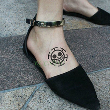 One Piece Waterproof Temporary Tattoo Sticker
