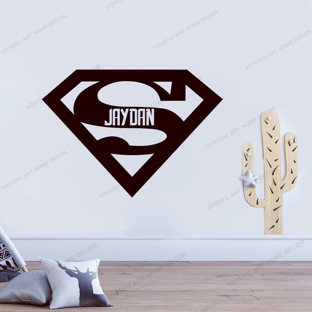 Decals Stickers Vinyl Art Superman Logo Decal Removable Wall Sticker Home Decor Mural Art Kids Super Hero Netpackmdz Com Ar