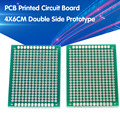 5 stücke 4x6cm Double Side Prototyp PCB Universal-Printed Circuit Board