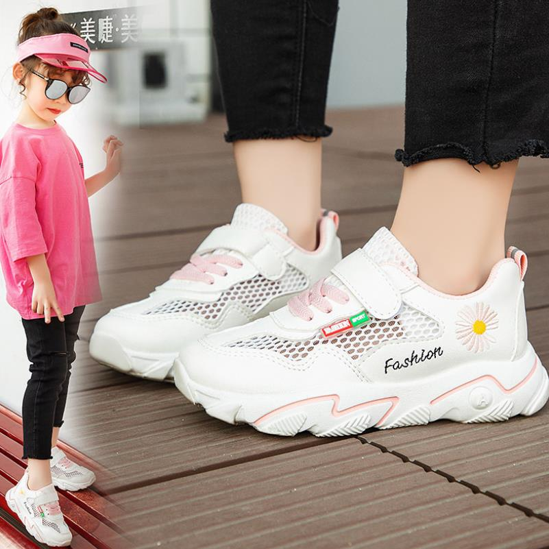 Children's Sports Shoes 12 Years Old Girls Sneakers For Boys Net Shoes 6 Children 7 Spring 8 New 9 Boys Breathable 10 Mesh