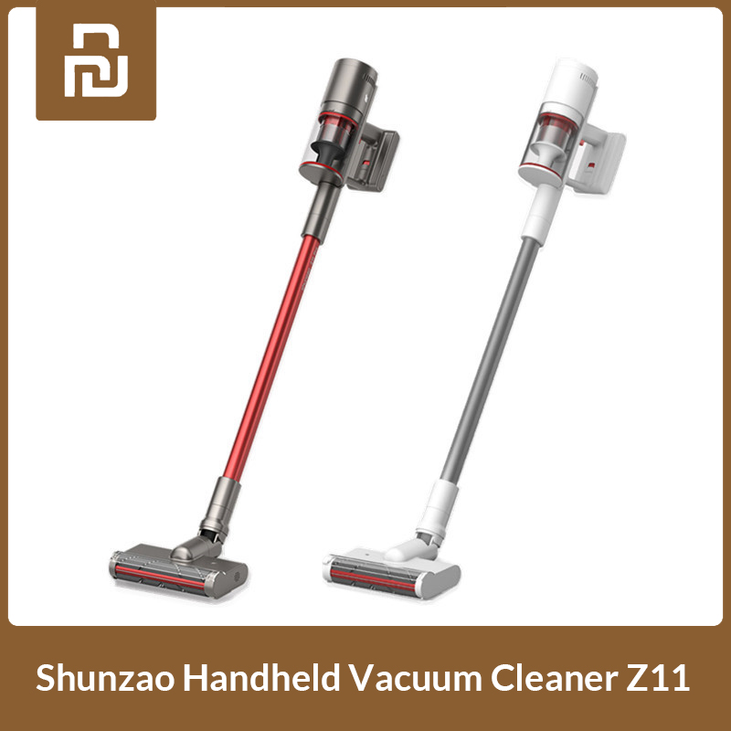 Mijia Shunzao Z11/ Z11 Pro Handheld Cordless Vacuum Cleaner 26kPa Wireless Vertical Dust Collector for Home from Xiaomi Youpin