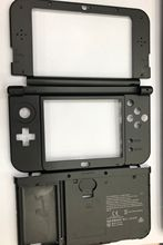 4 Colors Original Faceplate LCD Screen Middle Housing Shell+Hinge Part Bottom Middle Shell+Battery Cover Case For NEW 3DS XL LL