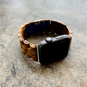 Image 3 - Retro Bamboo Wooden Bracelet Belt For Apple Watch band Wood 38mm 40mm 42mm 44mm Apple iWatch Strap Series 1 2 3 4 5 Watchbands