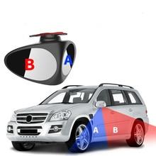 360 ° вращающийся 2 боковых окон автомобиля Зеркало для слепой зоны выпуклое зеркало Automibile внешний вид сзади Парковка зеркало защитные аксессуары для заднего хода