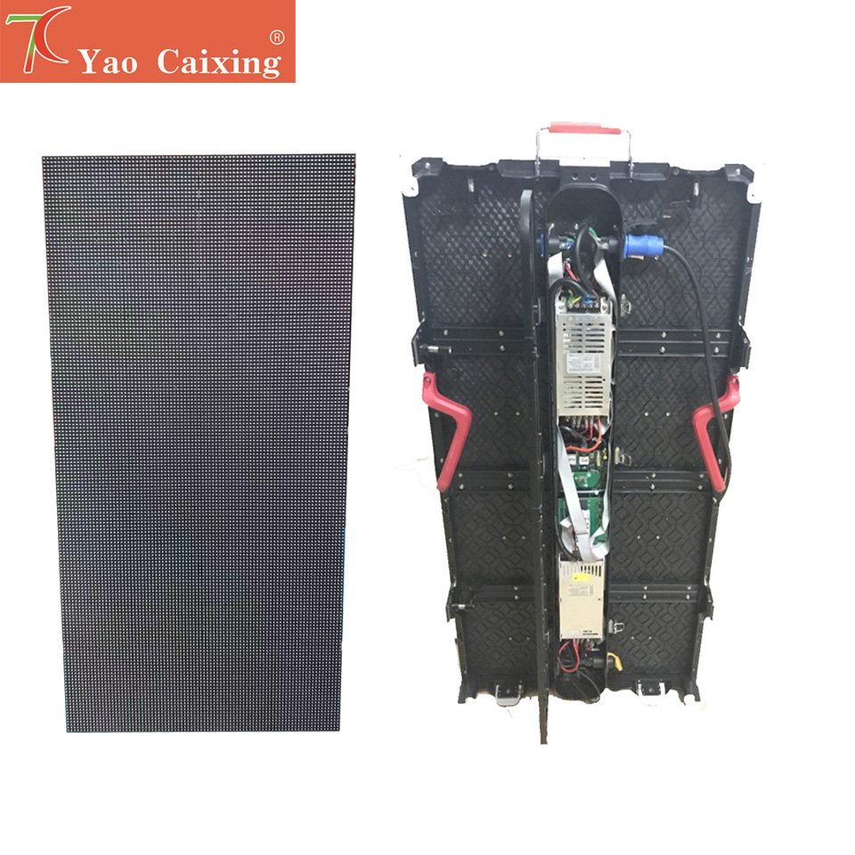 P3.91 Outdoor Waterproof  500*1000mm Die-casting Aluminum Equipment Cabinet Led Screen