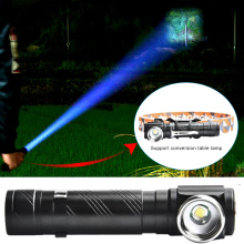 Headlamp Torch Cycling Camping Super Bright LED Flashlight Hiking 2in1 Durable Climbing ZOOM Flashlight Portable