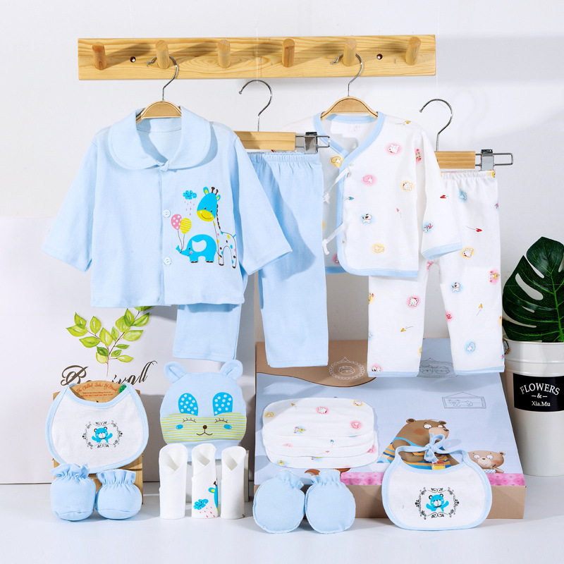 PCS Newborn Baby Clothes Set Carton Set With Gift Bag