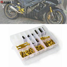 1set for Universal Aluminum Motorcycle accessories Fairing Bolt Screw Fastener Fixation For SUZUKI DL650 V-STROM GSX 600F/750F K 1set for universal aluminum motorcycle accessories fairing bolt screw fastener fixation for suzuki dl650 v strom gsx 600f 750f k