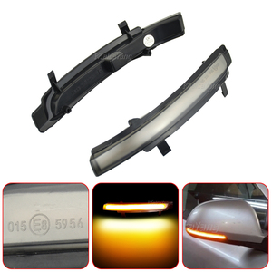 Image 4 - Dynamic LED Turn Signal Blinker Mirror Flasher Light Sequential Lamp For Skoda Octavia 2009 2013 SUPERB 2008 2014