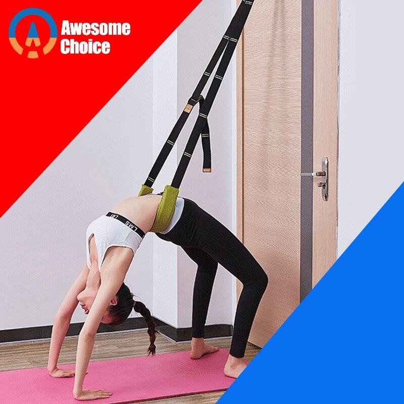 Set Leg Stretch Strap Dance Yoga Gymnastic BalletBelt Foot Stretcher Flexibility