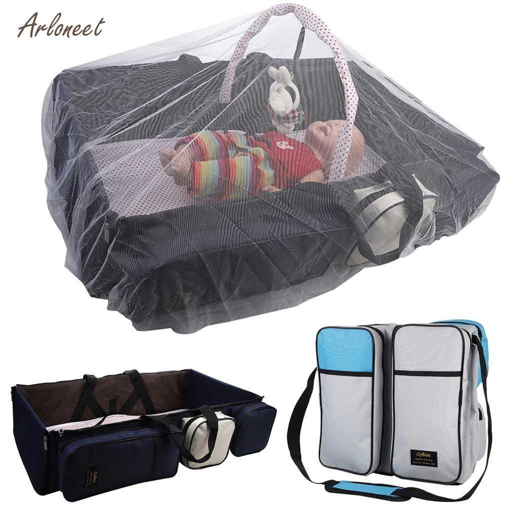 Vrouwen Zwangere Moederschap Draagbare Multifunctionele Reizen Bed Cot Voor Pasgeboren Mummie Urine Pad Vouwen Bed Bag Baby Baby bed Zak
