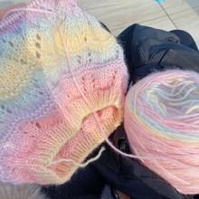 100g /Ball Segment Dyed Cotton Yarn Thick Yarn For Knitting Baby Wool Cotton Yarn Crochet