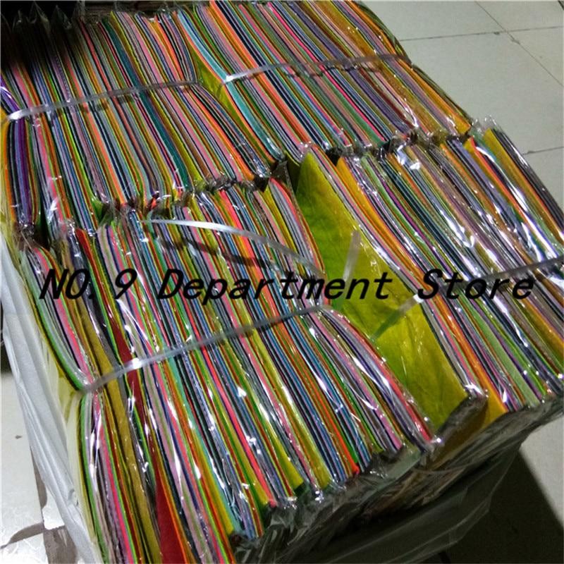120pcs DIY Colorful Fabric Cloth Artesanato Telas Polyester Cloth Felts Of Home Sewing Wedding Decoration Craft Cloths 10*15cm