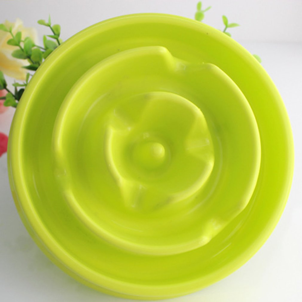 Portable Pet Dog Feeding Food Bowls Puppy Cats Slow Down Eating Feeder Dish Bowl Prevent Obesity Dogs Bowl Accessories