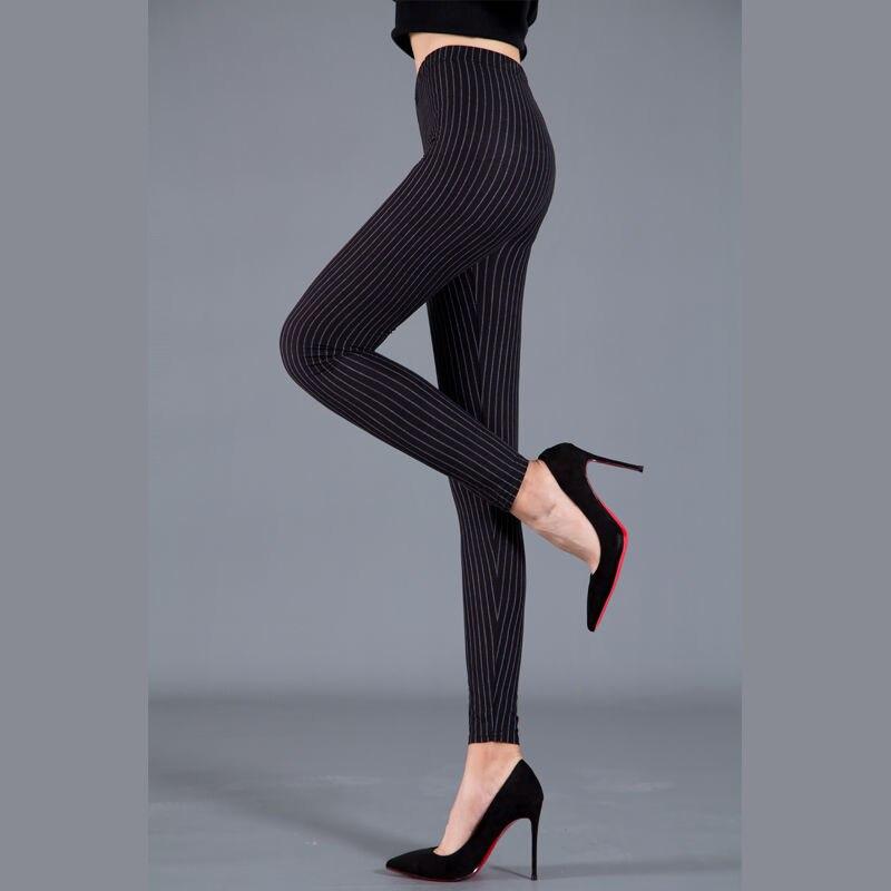Women Plaid Leggings Fashion Printing Fitness Houndstooth Floral Stripe Dot Leopard Pure Black Trouser High Waist Pants 3