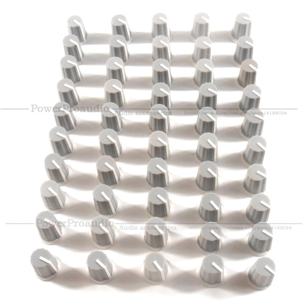 50pcs/lot EQ Cap Equalizer Knob / High School Bass Pot Knob Cap For Pioneer DJ MIXER DJM Djm-2000 900 850 750 700 800 Gray Color