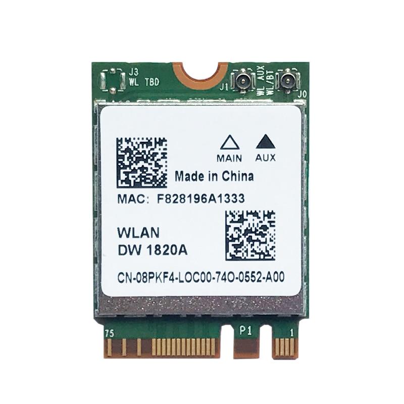 DW1820A BCM94350ZAE 802.11Ac BT4.1 867Mbps Wifi Adapter BCM94350 M.2 NGFF DW1820 WiFi Wireless Card Better Than BCM94352Z