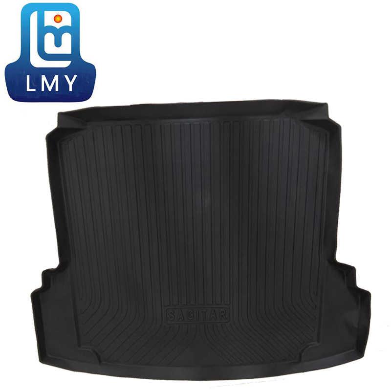 TPE tapis de coffre de voiture pour mercedes-benz GLS X167 TPO tapis de voiture 2019 2020 accessoires de voiture personnalisé en caoutchouc 5d Cargo Liner
